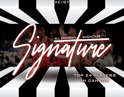 Signature Basketball Tournament Advertising