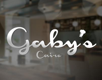 Gaby's   Brand Identity