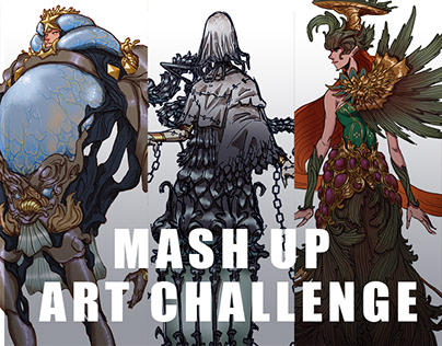 Mash Up Art Challenge 1