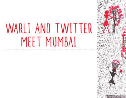 Warli and Twitter meet Mumbai