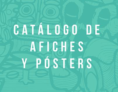 Catálogo de afiches y pósters