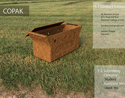 COPAK - Bio Degradable Packaging solution