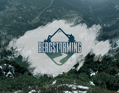 Bergstorming - Outdoor Blog & Corporate Design