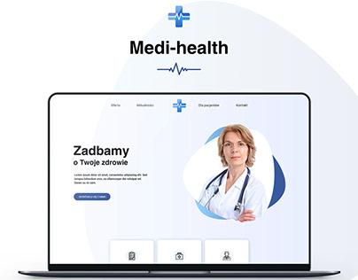 Web Design - Medi-Health