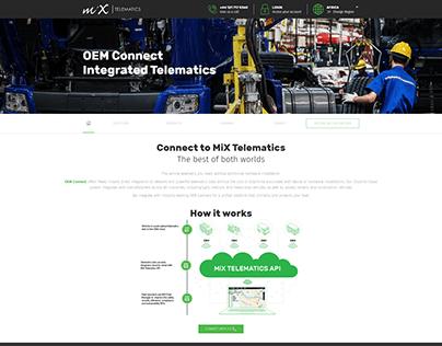 MiX Telematics OEM Page
