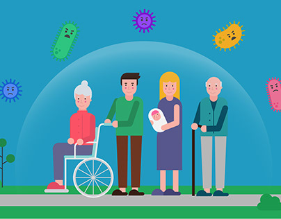 HSE flu vaccine animations