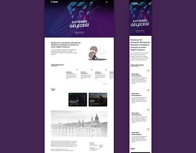 VizonPR Landing Page