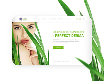 Perfect Derma / one page