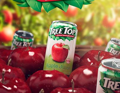 TreeTop Apple Juice, 5.5 oz