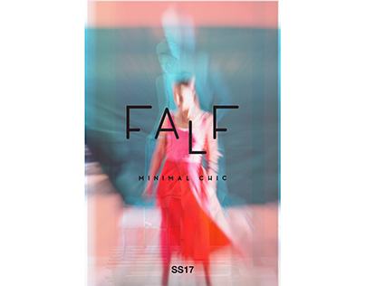 FALF Minimal Chic / Campaign SS 17 by Michael Koronis