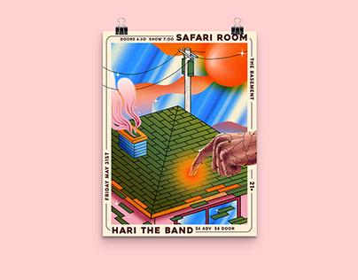 Safari Room Poster