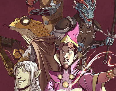RPG Commissions :: 2020