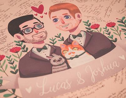 Jocas Wedding Illustrations