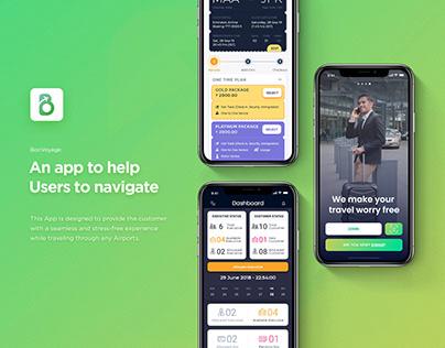 BonVoyage - Mobile App UI/UX for User, Agent & Admin ;)