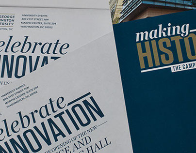 Celebrate Innovation: Event collateral