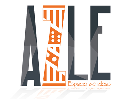 Logo tienda creativa AZLE