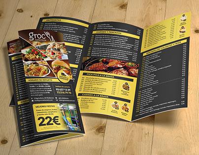 Groc restaurant - triptych