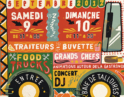 Annecy Lake Street Food Festival