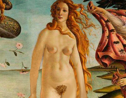 """Releitura do quadro """"O nascimento de Vênus"""""""