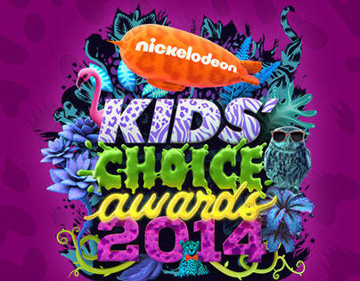 Kid's Choice Awards Mockup Responsive Design