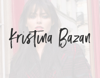 The Fashion Diary by Kristina Bazan