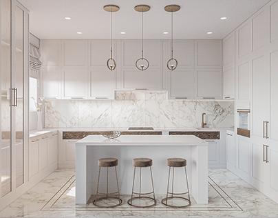 Kitchen visualization / визуализация кухни