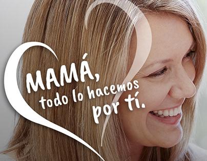 Mamá, todo lo hacemos por tí