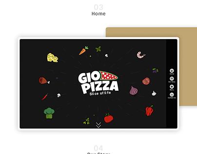 Gio Pizza Website