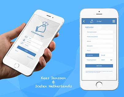Administration App Design