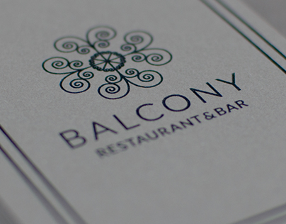 Balcony Restaurant & Bar | Visual Identity