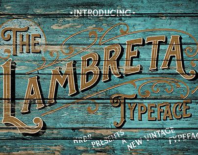 The Lambreta Font Combinations