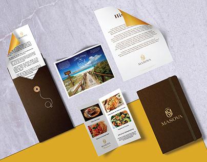 MASOVA HOTEL / LOGO & BRAND IDENTITY