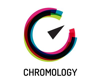 CHROMOLOGY logo design