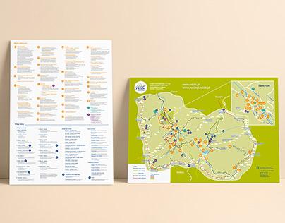 Turystyczny plan Wisły