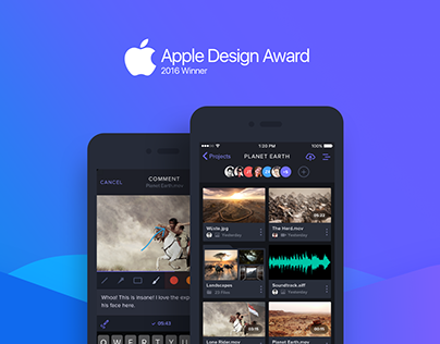 Frame.io iOS app