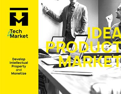 "Brand identity ""Tech to Market"""