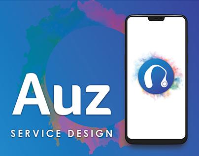 Service Design- Auz: Brighten your hearing at a push