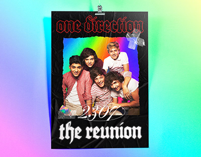 ONE DIRECTION REUNION POSTER