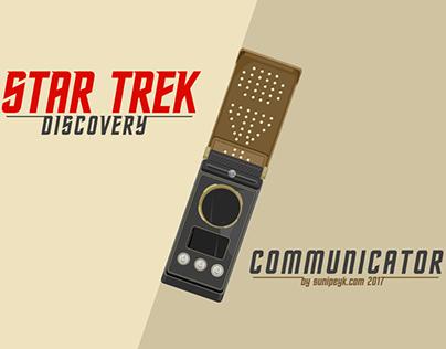 Star Trek Discovery Communicator Poster