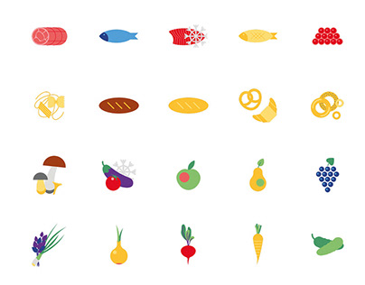 Icons for Rosstat (statistic company)