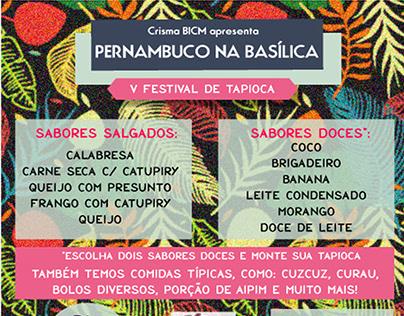 V festival de tapioca BICM - Alternativa