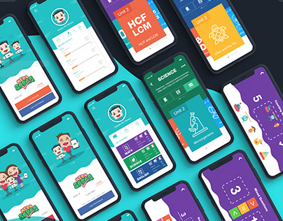 MeraSABAQ | Mobile App UI 2018