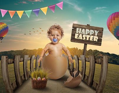 Happy Easter on Social Media