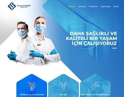 SS İLAÇ WEB SİTESİ