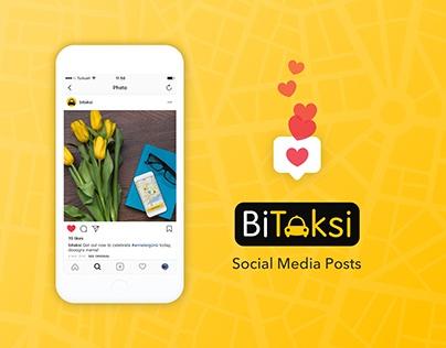 BiTaksi Social Media