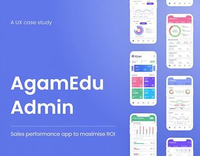 AgamEdu Admin | School Management App