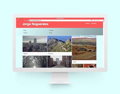 Jorge Noguerales · Production Locations Website