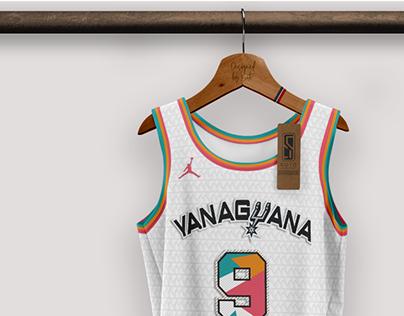 SAN ANTONIO SPURS / NBA - concept by SOTO UD