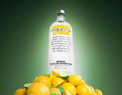 Poster for Absolut Flavored Vodka