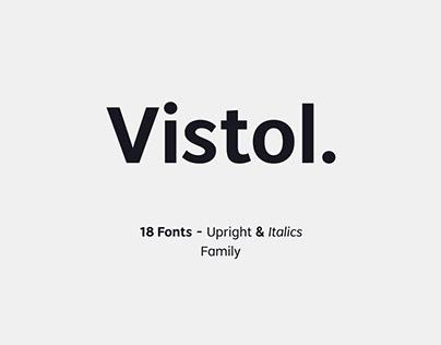 Vistol Sans Latin Pro Family
